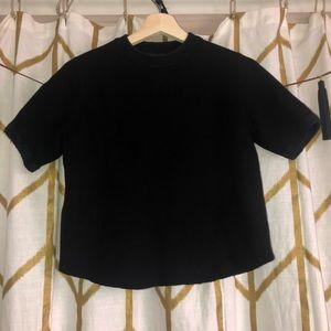 Black Zara Sweatshirt